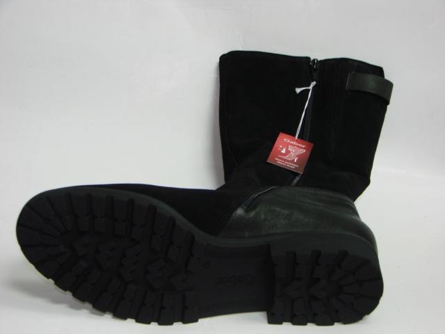 43f86df1 Сапоги женские Габор 72.785.95 обувь больших размеров
